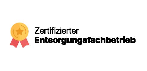 Logo Zertifizierter Entsorgungsfachbetrieb
